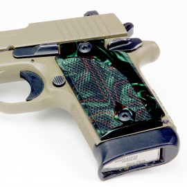 Walther PPK/S by Interarms Kirinite® Jungle Camo Pistol Grips