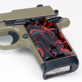 Walther PPK/S by Interarms Kirinite® Lava Pistol Grips