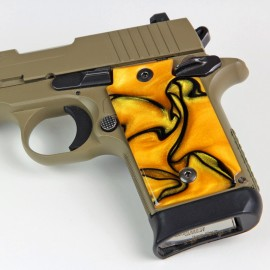 Walther PPK/S by Interarms Kirinite® Liquid Gold Pistol Grips
