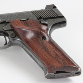 Colt Woodsman 3rd. Gen. Rosewood SMOOTH Thumbrest Grips