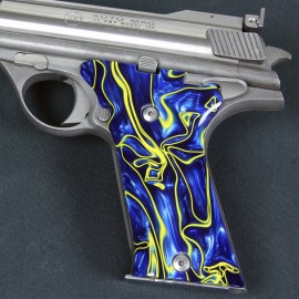 Auto Mag .44 Royal Pearl Kirinite Grips