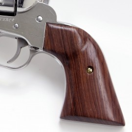 Virginian Dragoon GENUINE ROSEWOOD Revolver Grips - SMOOTH