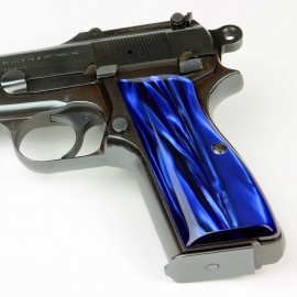 Browning Hi Power Kirinite® Blue Pearl Grips