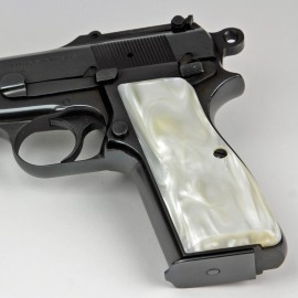 Browning Hi Power Kirinite® Antique Pearl Grips