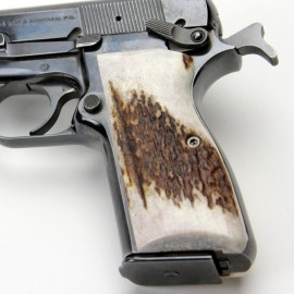 Browning Hi Power American Elk Grips