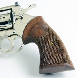 Colt Python & Official Police Walnut 2nd Generation Heritage Grips Checkered