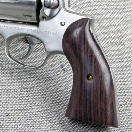 Ruger Redhawk Square Butt GENUINE ROSEWOOD Panel Grips - SMOOTH
