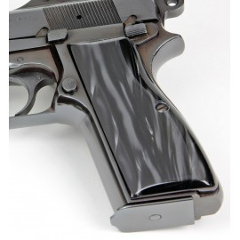 Browning Hi Power - Kirinite™ BLACK PEARL Grips