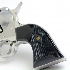 Ruger Bisley Gunfighter BLACK Checkered Grips
