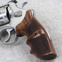 S&W N Frame Round Butt Rosewood Finger Position Grips Checkered