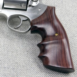Ruger Redhawk Square Butt GENUINE ROSEWOOD Finger Position Grips - SMOOTH
