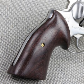 Ruger Redhawk Square Butt GENUINE ROSEWOOD Classic Revolver Grips - SMOOTH