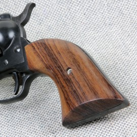Colt .22 New Frontier Rosewood Grips - SMOOTH