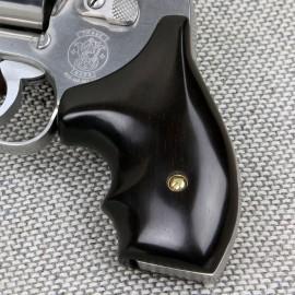 "S&W J Frame Round Butt ""Model 40"" Ebony Secret Service Grips"
