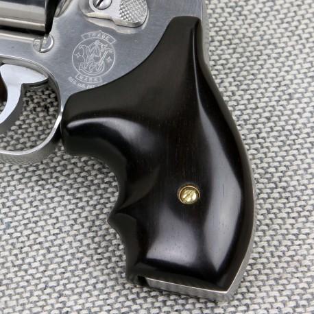 J Frame Rnd. Butt Ebony Secret Service Grips