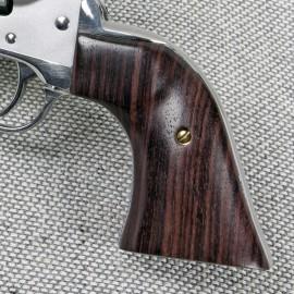 Ruger New Vaquero GENUINE ROSEWOOD Gunfighter II Grips - SMOOTH