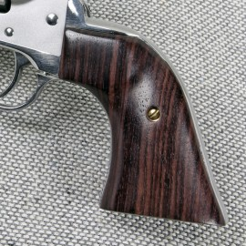 "Ruger ""Old"" Vaquero GENUINE ROSEWOOD Gunfighter II Grips - SMOOTH"