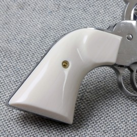 ULTRA IVORY RUGER NEW VAQUERO GUNFIGHTER GRIPS