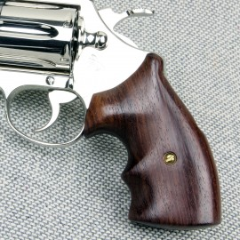 Colt Diamondback Genuine Rosewood Finger Position Grips - SMOOTH