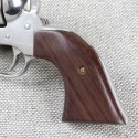 Ruger New Vaquero - Evil Roy ACTION Rosewood Grips - SMOOTH