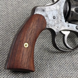 Colt Police Positive - Walnut Panel Grips - SMOOTH