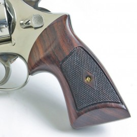 S&W N Frame Square Butt - Heritage Compact Revolver Grips - CHECKERED