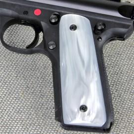 Ruger 22/45 .22LR - WHITE PEARL Kirinite Pistol Grips