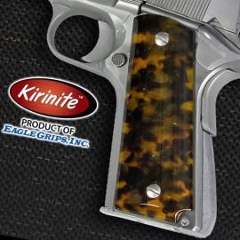 1911 Officer's Compact Kirinite® Tortoiseshell Grips