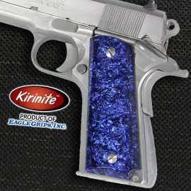 1911 Officer's Compact Kirinite® Arctic Blue Ice Grips