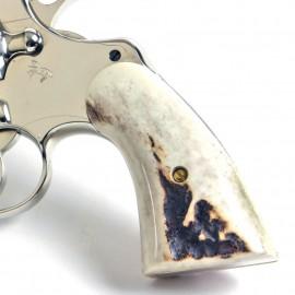 Colt Python & Official Police Sambar Stag Grips