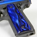 Ruger 22/45 .22LR - DEEP BLUE PEARL Kirinite Pistol Grips