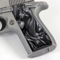 Colt .380 Government and Mustang Plus II Kirinite® Black Pearl Grips