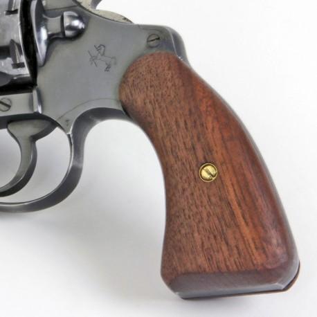 Pre 1966 Colt Detective Special Walnut Service Panel Grips