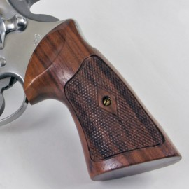 Colt Anaconda & King Cobra Checkered Rosewood Heritage Grips