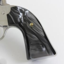 Ruger Bisley Gunfighter BLACK ULTRA PEARL Kirinite Revolver Grips