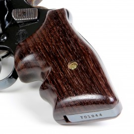 S&W J Frame Square Butt Indian Rosewood Secret Service Smooth Grips