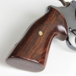 S&W J frame Square butt - GENUINE ROSEWOOD Target Grips - SMOOTH