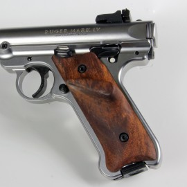 Ruger Mark IV Walnut Smooth w/ Thumbrest for Right Handed Shooter