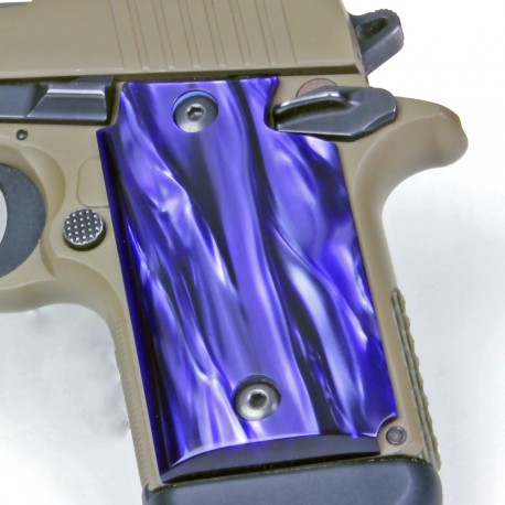 Sig Sauer P938 KIRINITE™ Pistol Grips - Wicked Purple