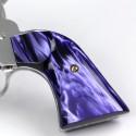 "Ruger ""Old"" Vaquero Kirinite® Wicked Purple Gunfighter Grips"