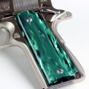 Officer's 1911 - Kirinite® Emerald Bay Pistol Grips
