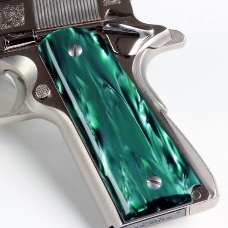 1911 - Kirinite™ Emerald Pearl Pistol Grips