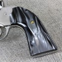 Ruger Redhawk Round Butt Kirinite Black Pearl Panel Grips Smooth