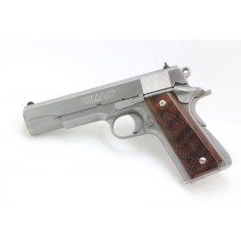 1911 - Evil Roy's GENUINE ROSEWOOD Gunfighter Grips - CHECKERED