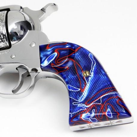 Ruger New Vaquero - Kirinite® Patriot Gunfighter Grips Checkered