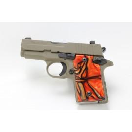 Sig Sauer P938 BENGAL TIGER Kirinite® Pistol Grips
