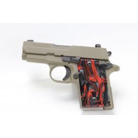 Sig Sauer P938 LAVA FLOW Kirinite® Pistol Grips