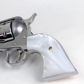Ruger Bisley Gunfighter Kirinite White Pearl Grips