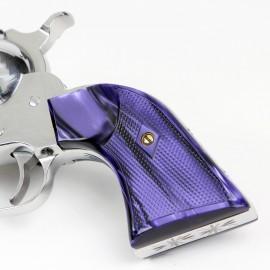 Ruger Bisley Gunfighter Kirinite Wicked Purple Grips