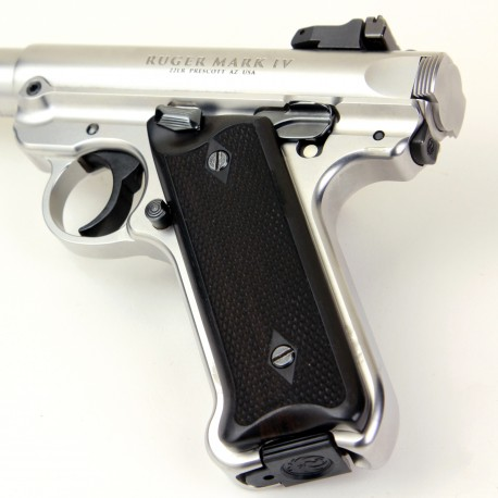Ruger Mark IV Ebony Grips